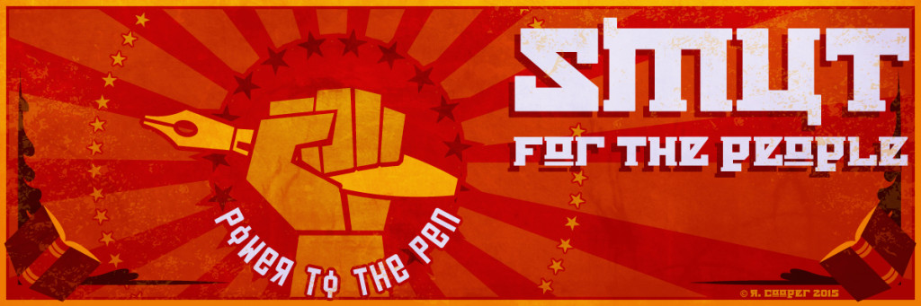 Smut for the People propaganda artwork banner
