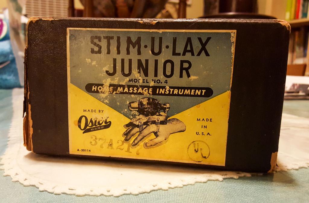 Oster Stim-u-Lax Massager box