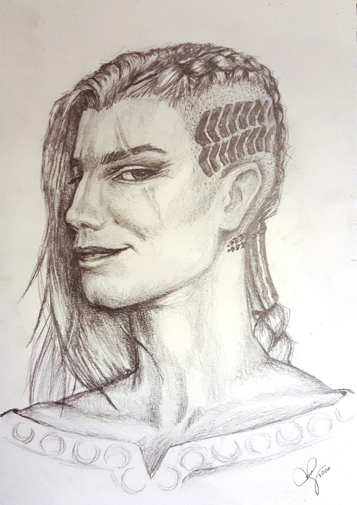 More After Exile Artwork: Portrait of Kadrian Ayzhus