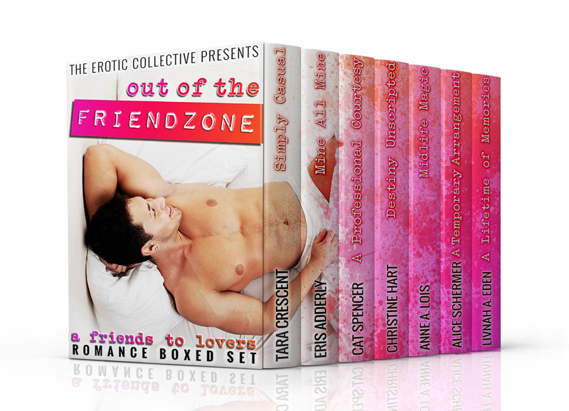 New Story! Mine, All Mine (Out of the Friend Zone Boxed Set) Available for Preorder NOW!
