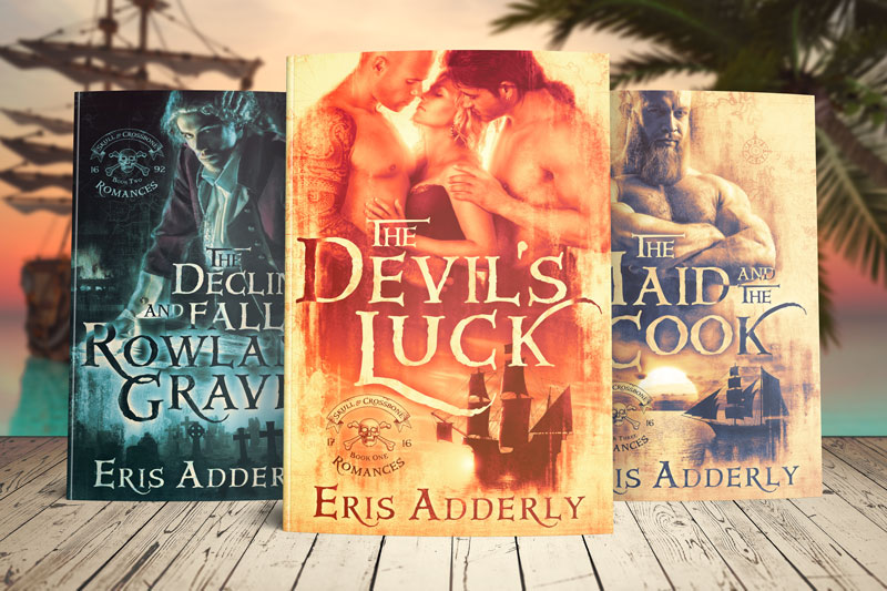 The Skull & Crossbone Romances now available in paperback!