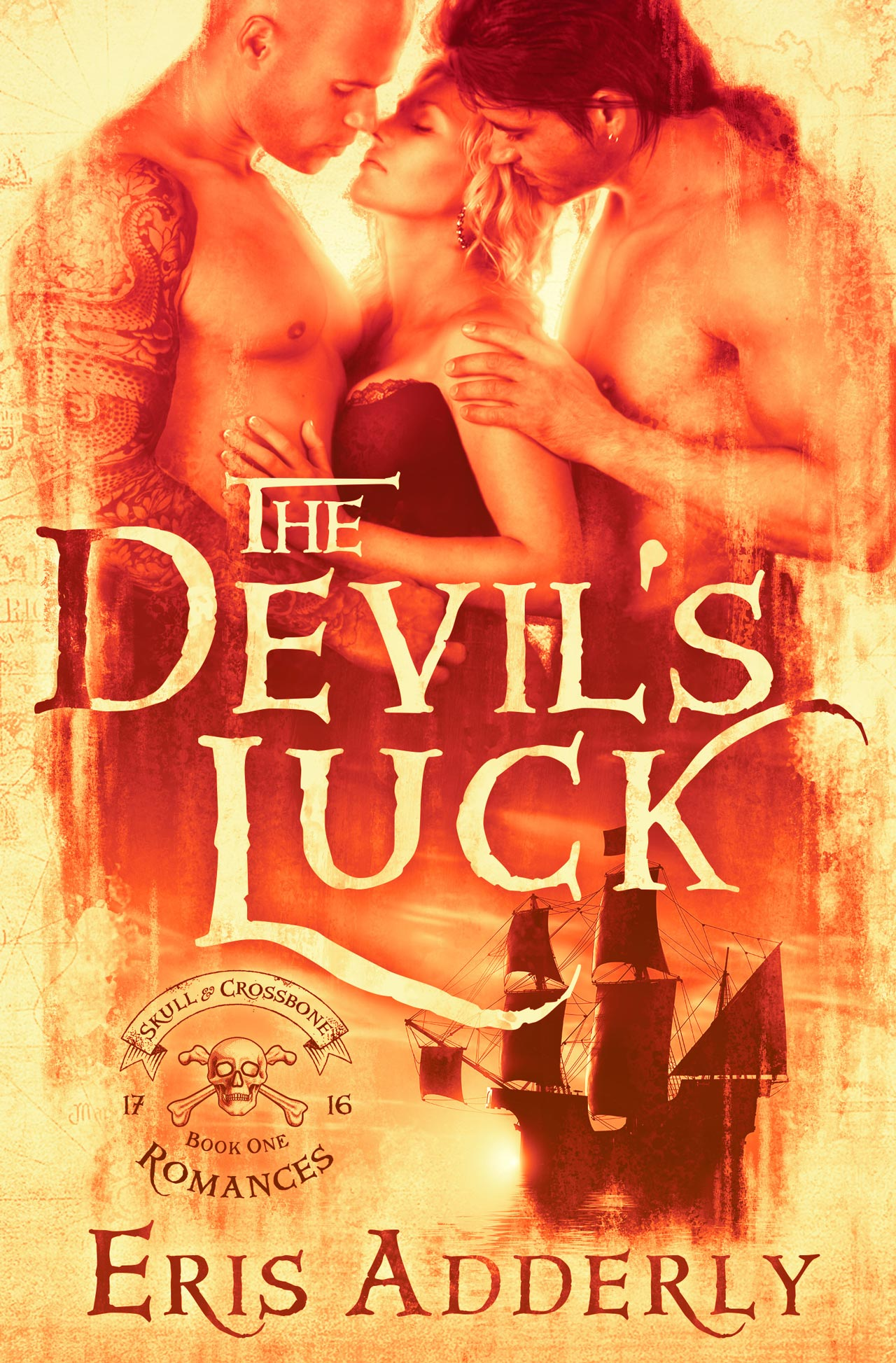 The Devil's Luck by Eris Adderly ebook cover