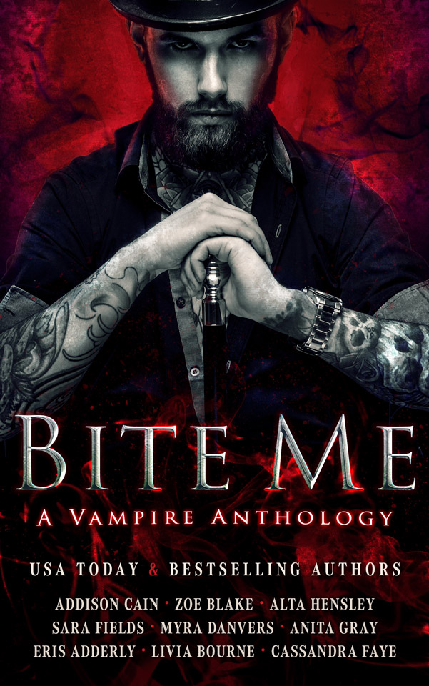 NEW: V is for Vampire, in the Bite Me anthology