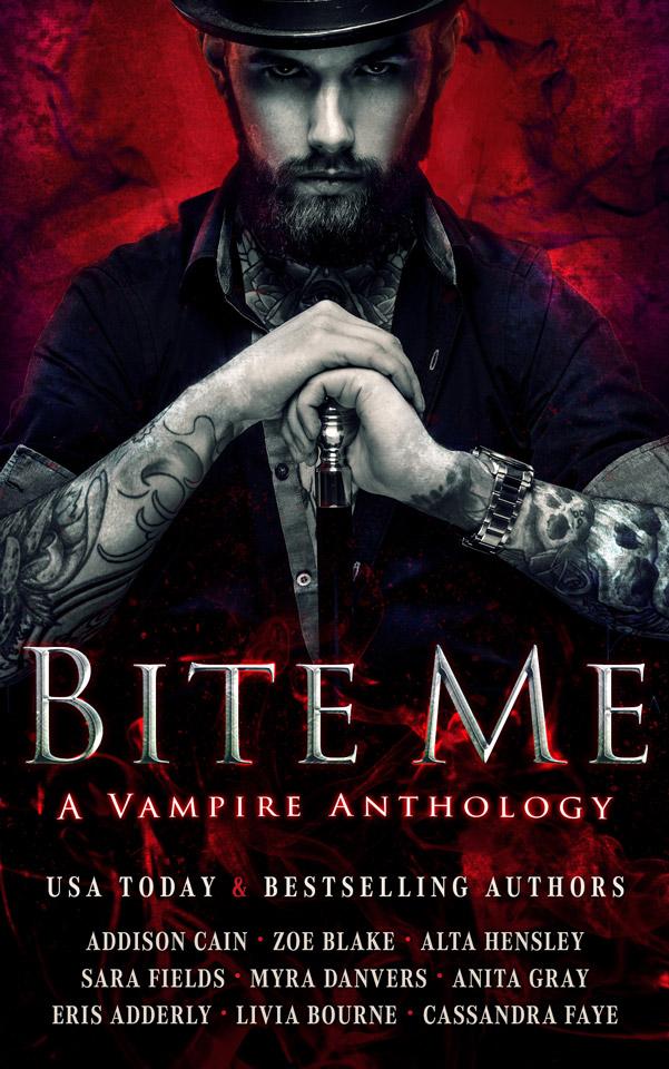 NEW: V is for Vampire, in the Bite Me anthology