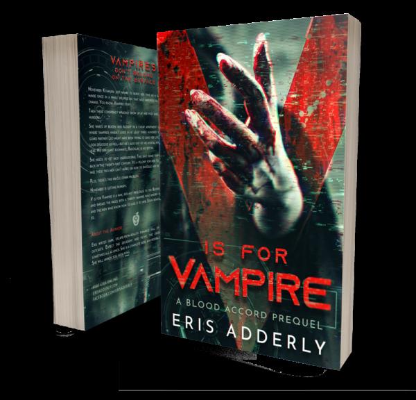 V is for Vampire by Eris Adderly