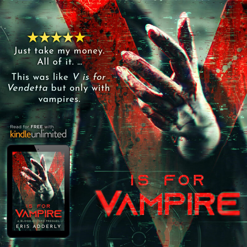 """""""Just take my money. All of it. This was like V for Vendetta but only with vampires."""""""