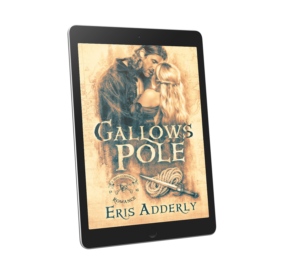 Gallows Pole by Eris Adderly displayed on tablet reader