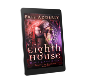 The Eighth House by Eris Adderly ebook displayed on a tablet.