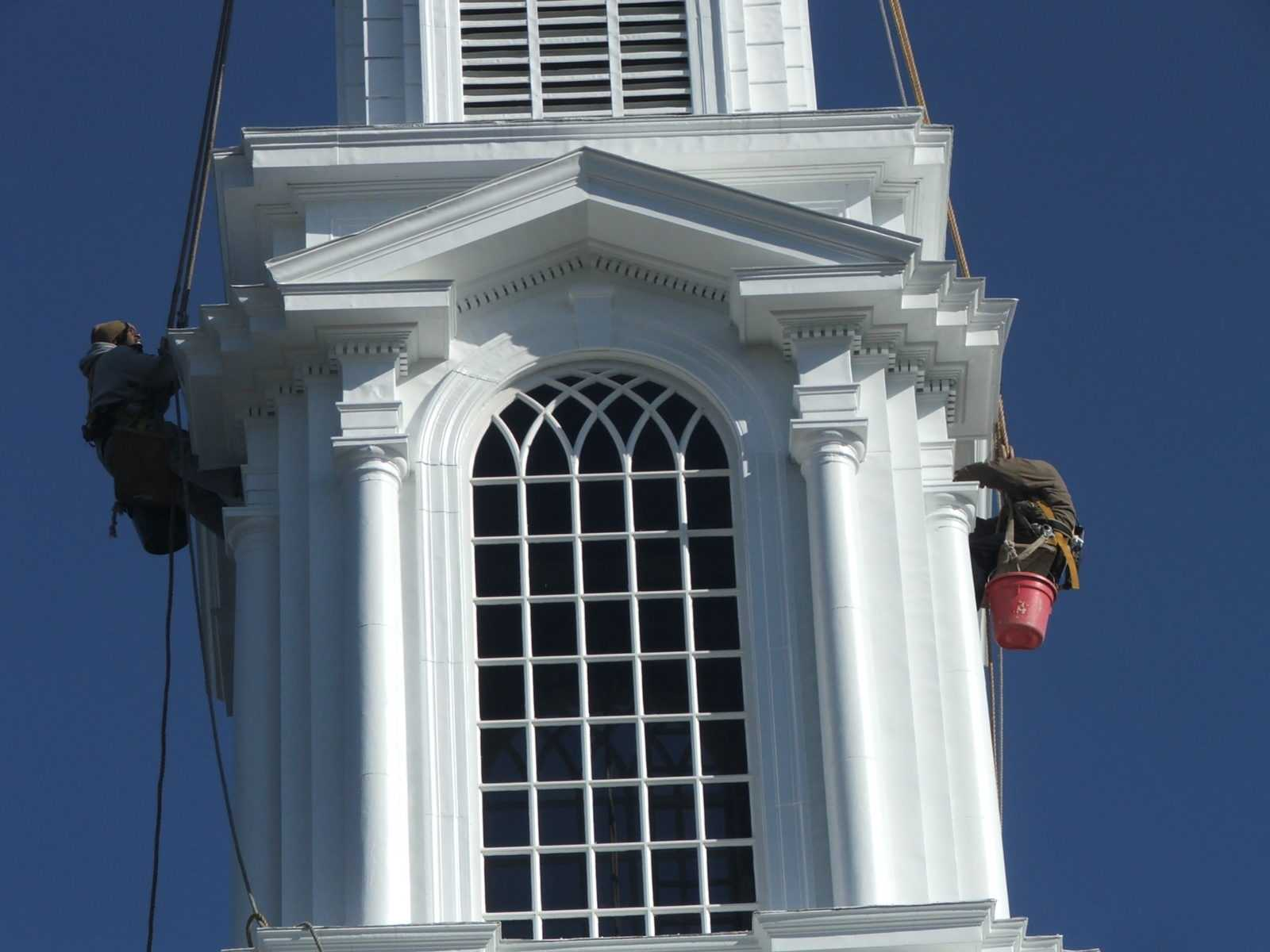 Church Steeple Painting