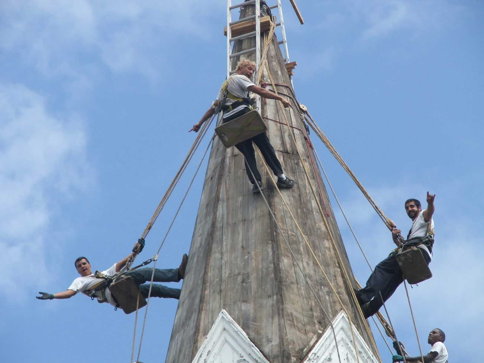 Steeplejack Training