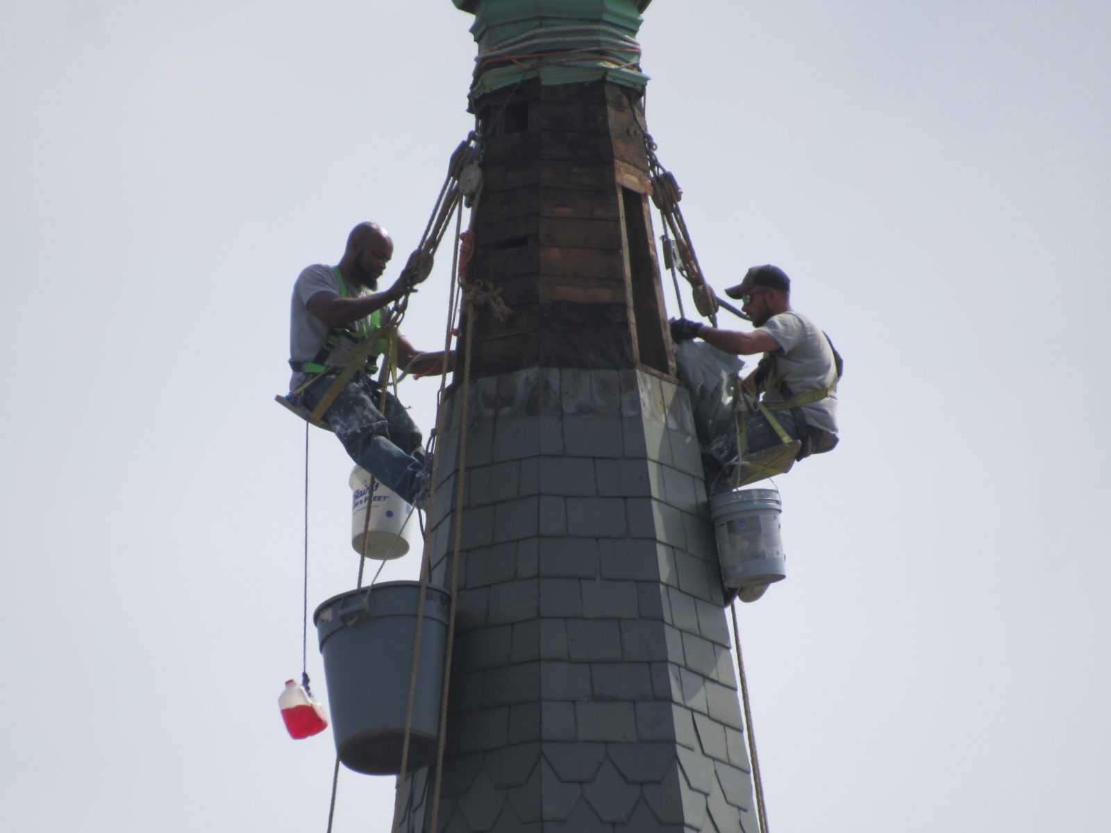 Steeple roofing contractor