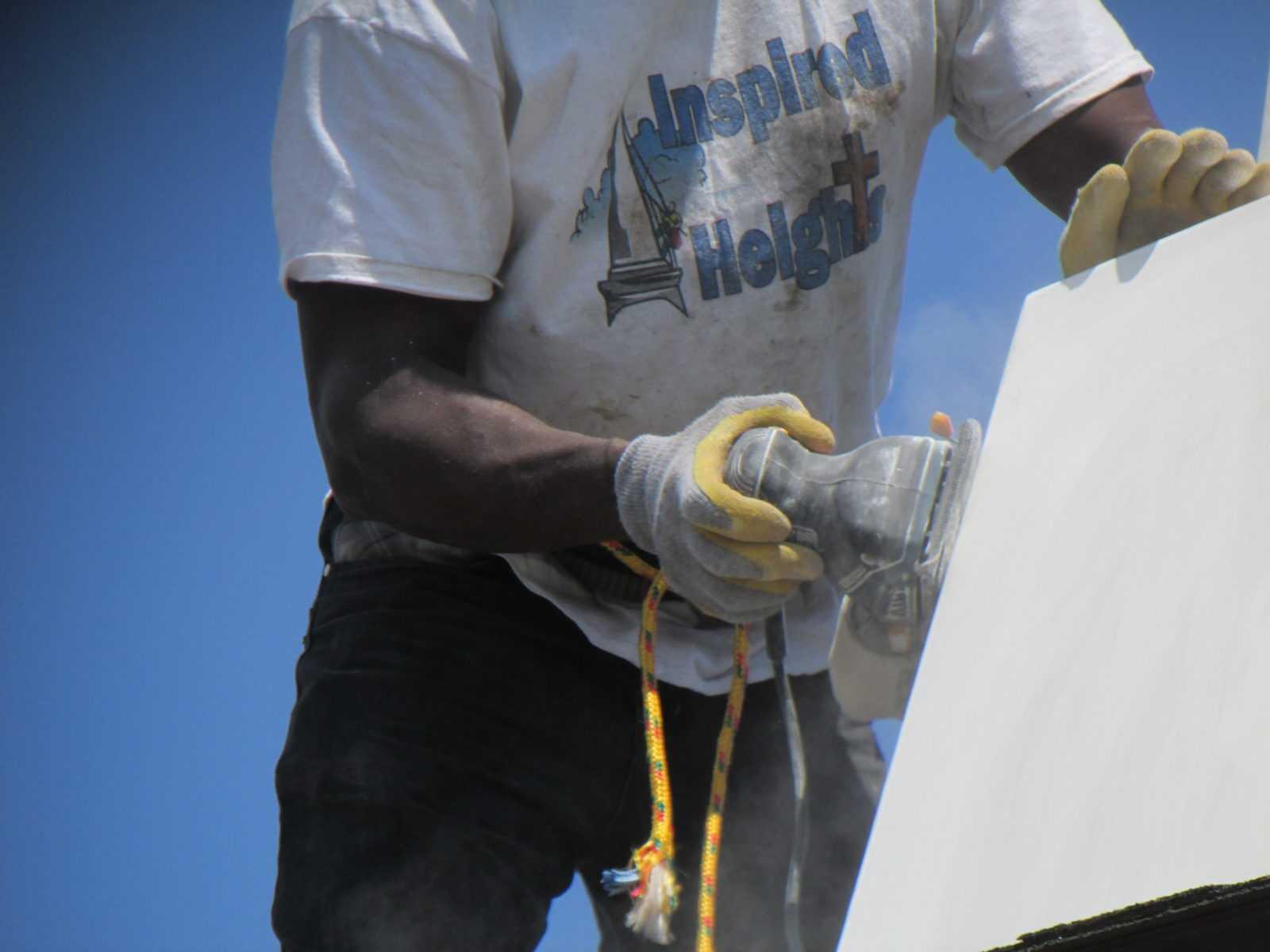 Fiberglass steeple repair