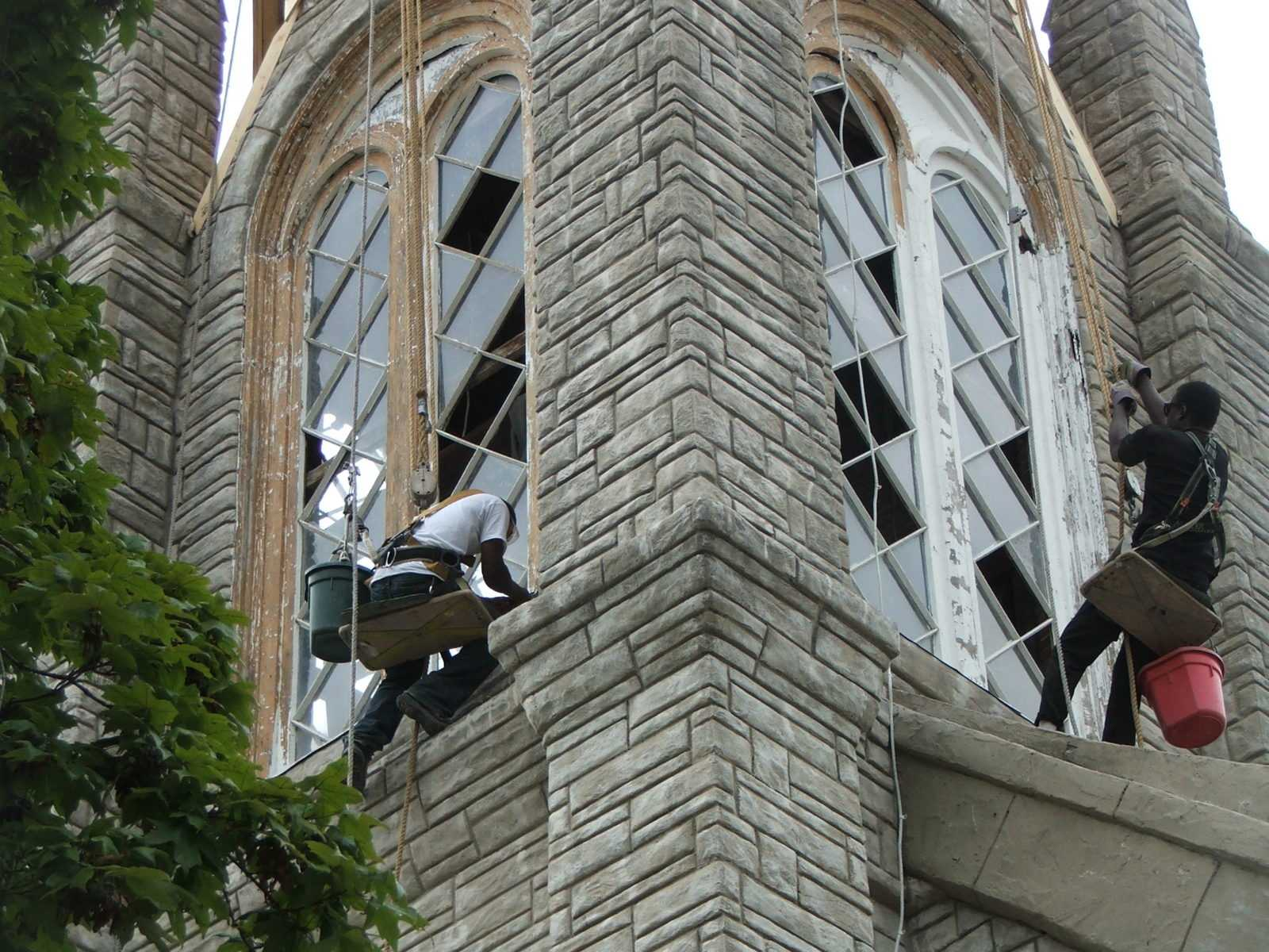 Steeple Windows
