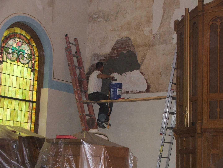 Church Plaster Repairs
