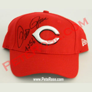 Autographed Baseball Cap – Cincinnati Reds