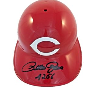 Pete Rose Autographed Authentic Rawlings Full Size Helmet 4256