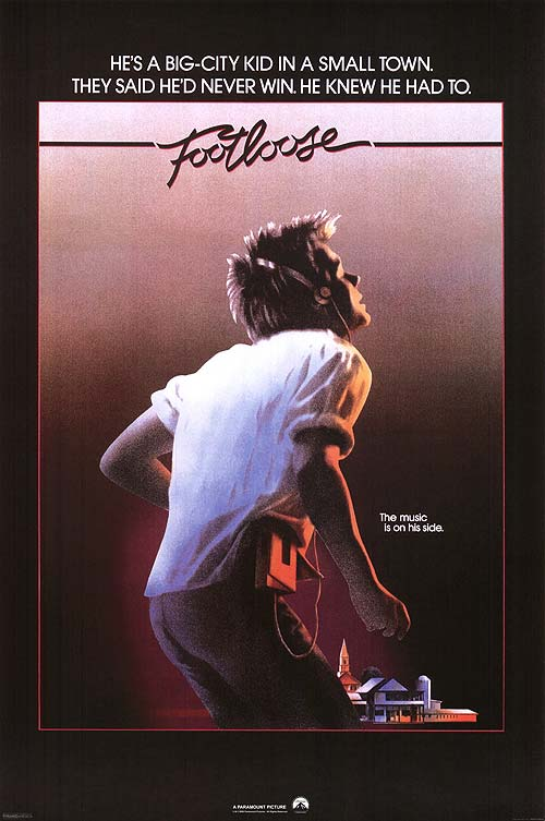 Footloose movie poster