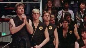 Cobra Kai Karate Kid All Valley Tournament Martin Kove William Kabka Ron Garrison Chad McQueen Larry Scott