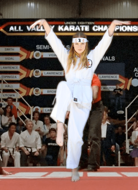 Riley Roberts The Karate Kid Crane Kick podcast 80s Movies