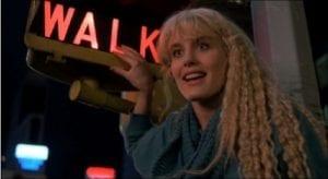 Madison Daryl Hannah Splash Walk sign