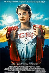 TEEN WOLF (1985) movie poster