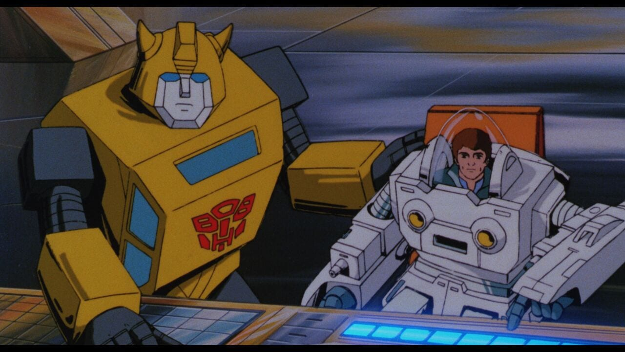 Bumblebee THE TRANSFORMERS THE MOVIE