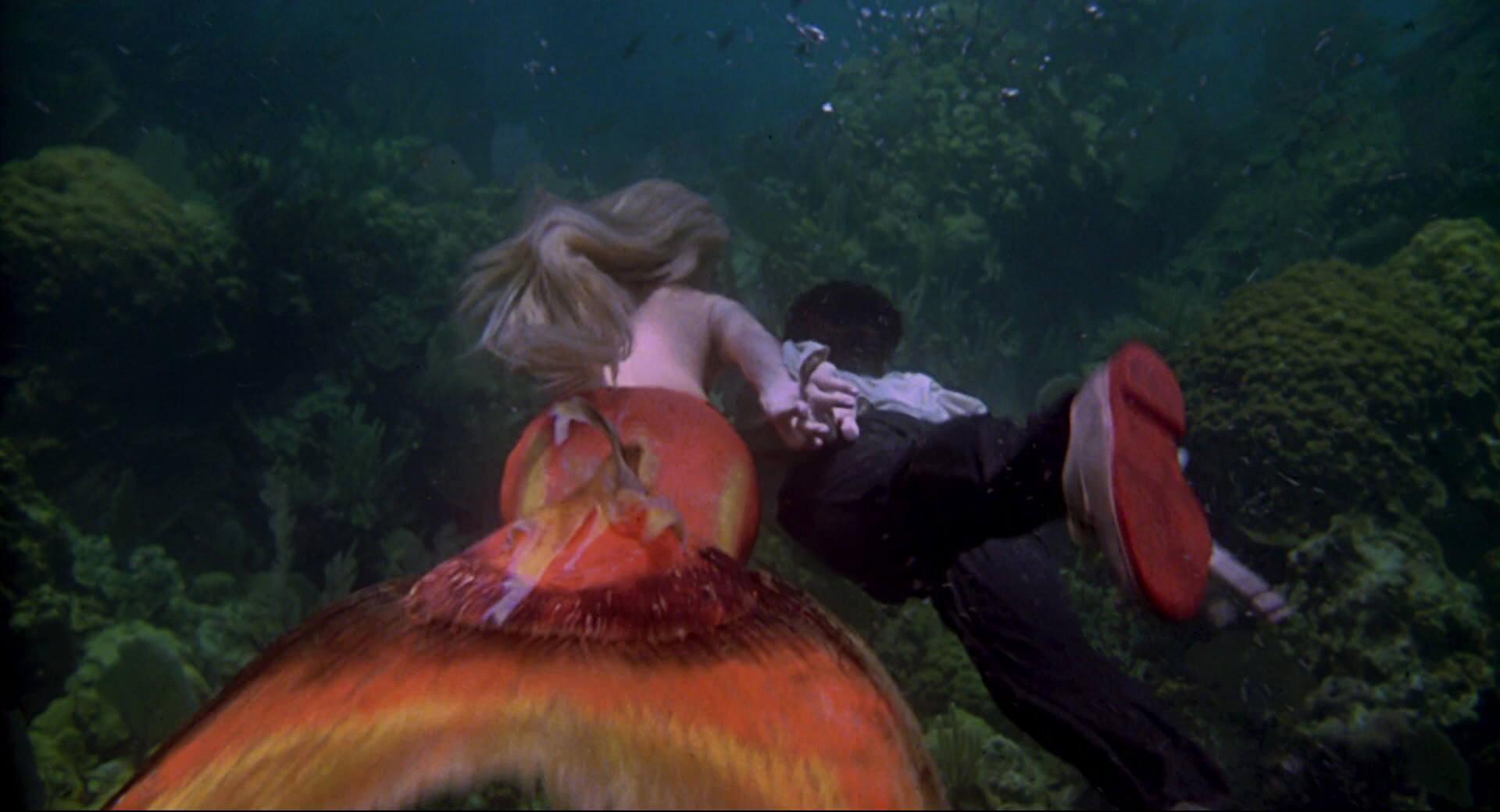 SPLASH Daryl Hannah mermaid tail Tom Hanks shoes