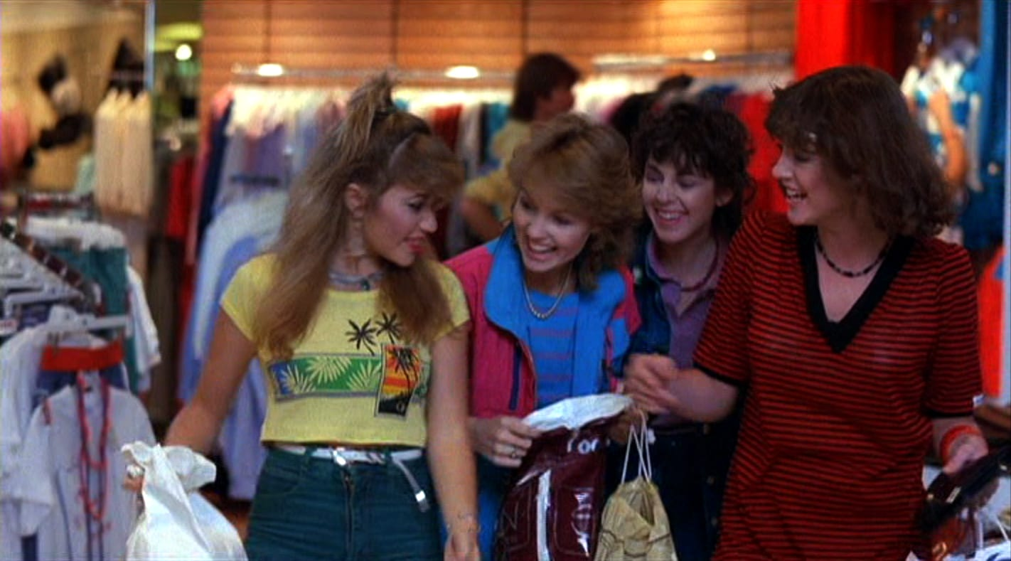 valley girl movie fashion wardrobe costumes E.G. Daily Deborah Foreman Holly Hollicker Michelle Meyrink