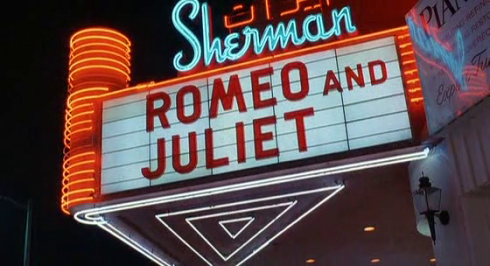 Valley Girl Romeo and Juliet marquee