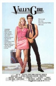 valley girl movie poster tina theberge