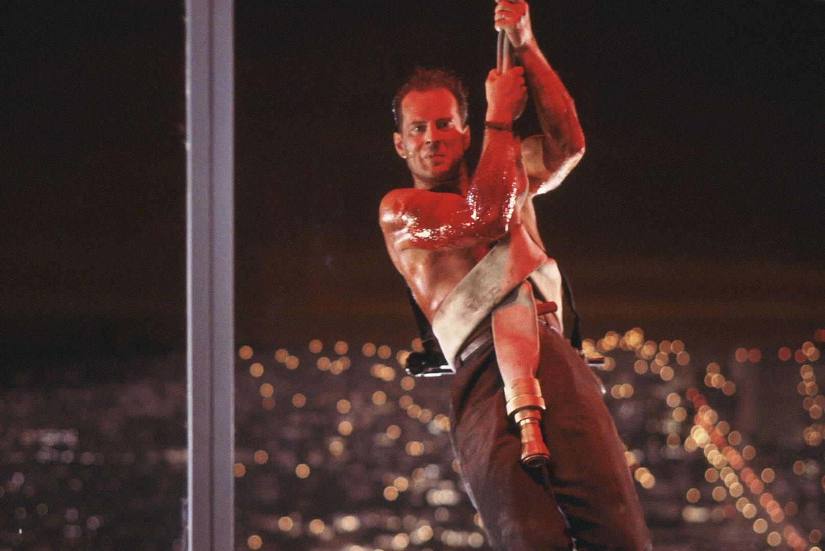 DIE HARD, John McClane, Bruce Willis, Yippee-ki-yay