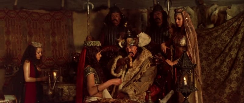 Stunt actor Al Leong portrayed Genghis Khan in BILL & TED'S EXCELLENT ADVENTURE.