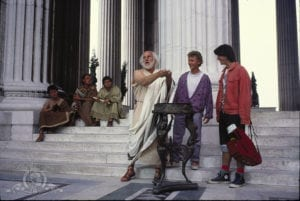socrates bill ted ancient greece