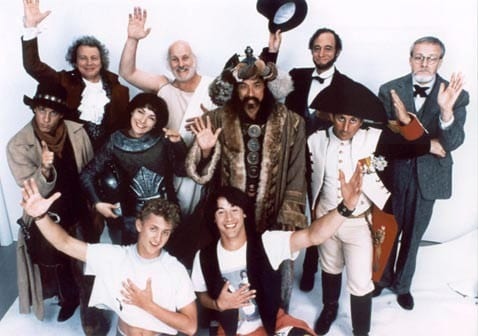 BILL AND TED'S EXCELLENT ADVENTURE cast photo