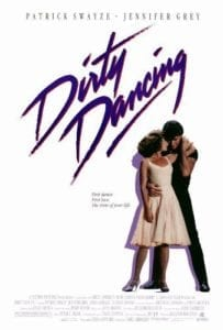 patrick swayze jennifer grey dirty dancing poster