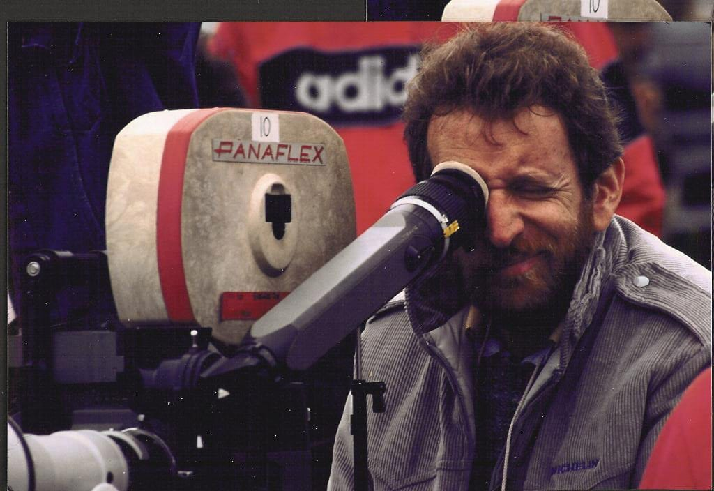 Phil Alden Robinson directing Field of Dreams