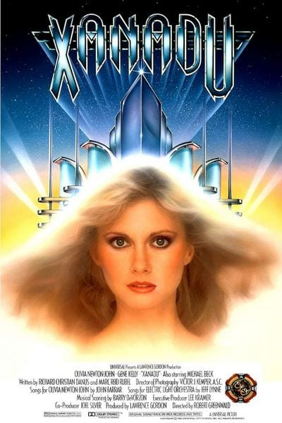 movie poster for Xanadu