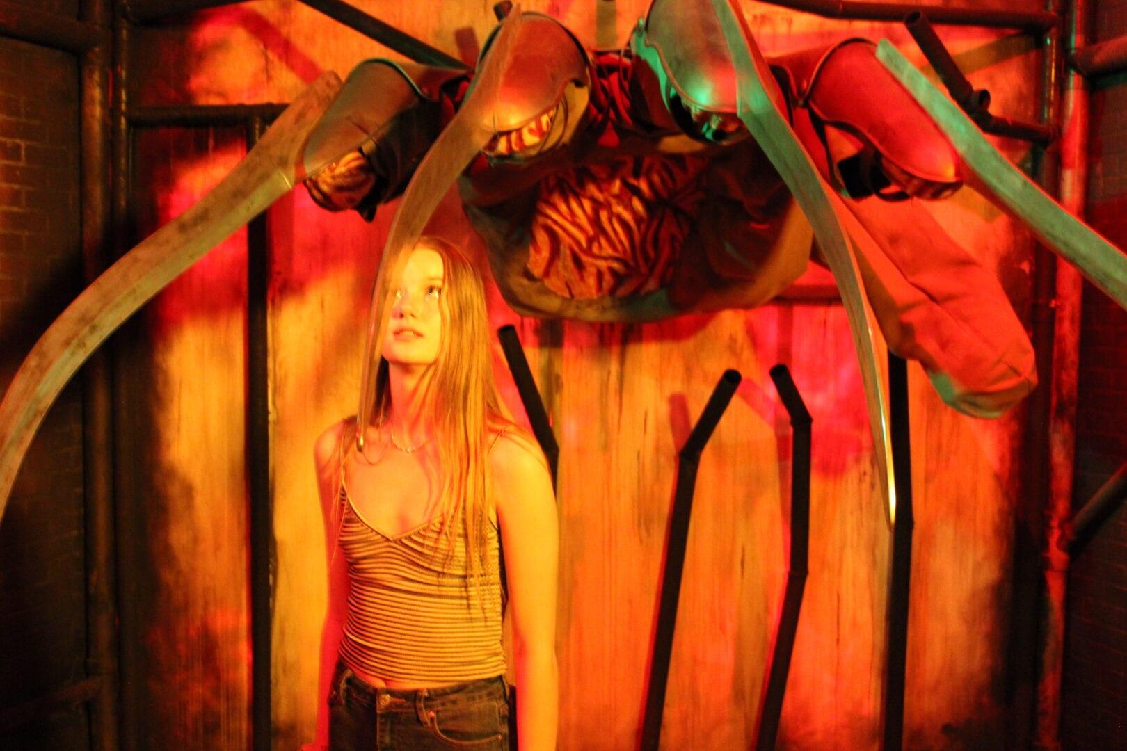 Freddy Krueger Riley Roberts Nightmare on Elm Street
