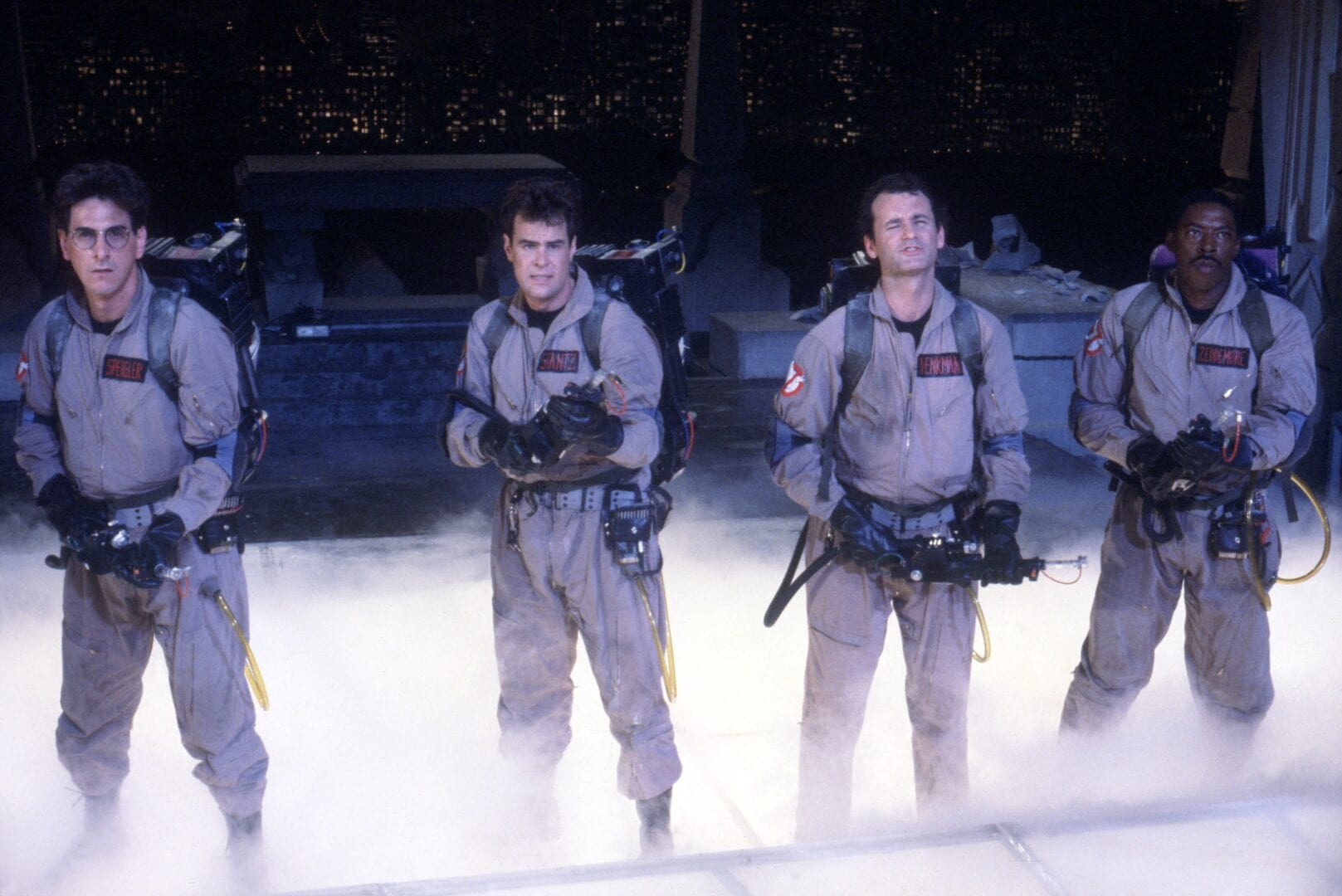 ghostbusters cast 1984
