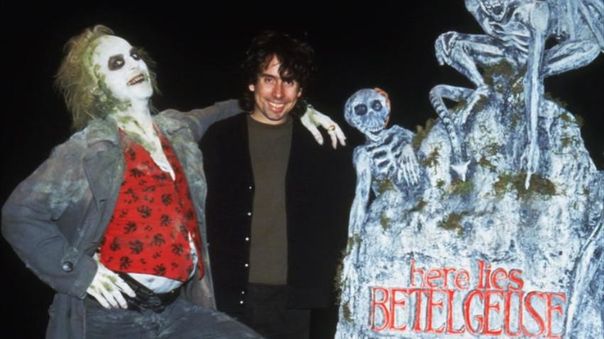 Tim Burton Beetlejuice Michael Keaton