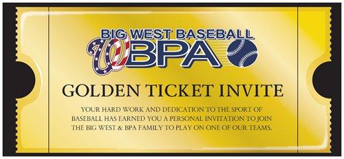 Big West BPA Golden Ticket