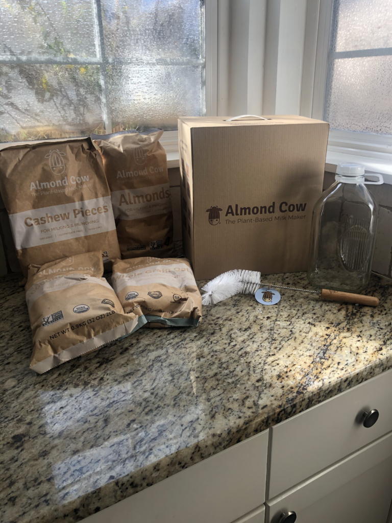 Organic Ingredients for the Almond Cow