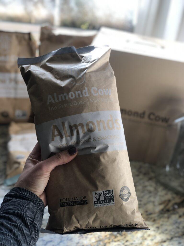 Almond Cow Organic Ingredients