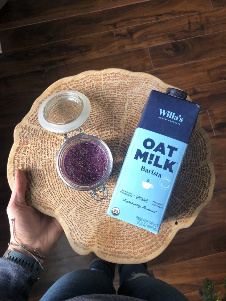 Willa'sOatMilk and Chia Seeds