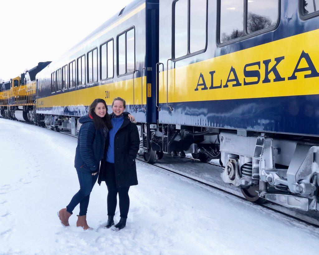 Alaska Winter Train Alaska Railroad