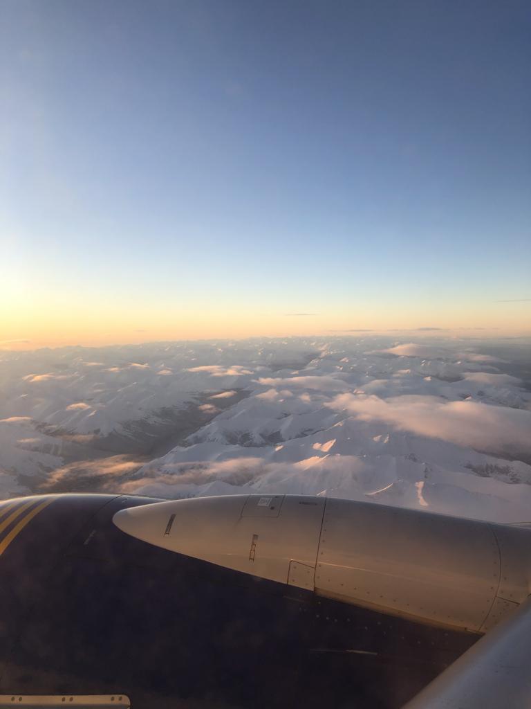 Flight Fairbanks to Anchorage