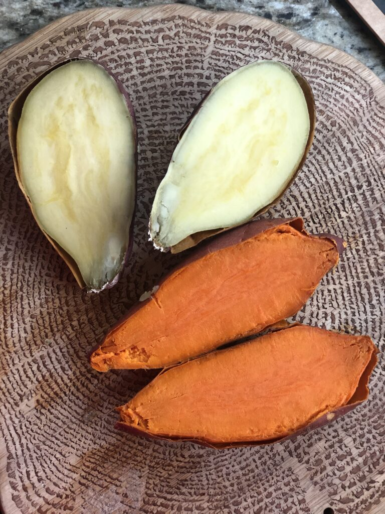 Sweet potatoes as a base for corn-free tacos