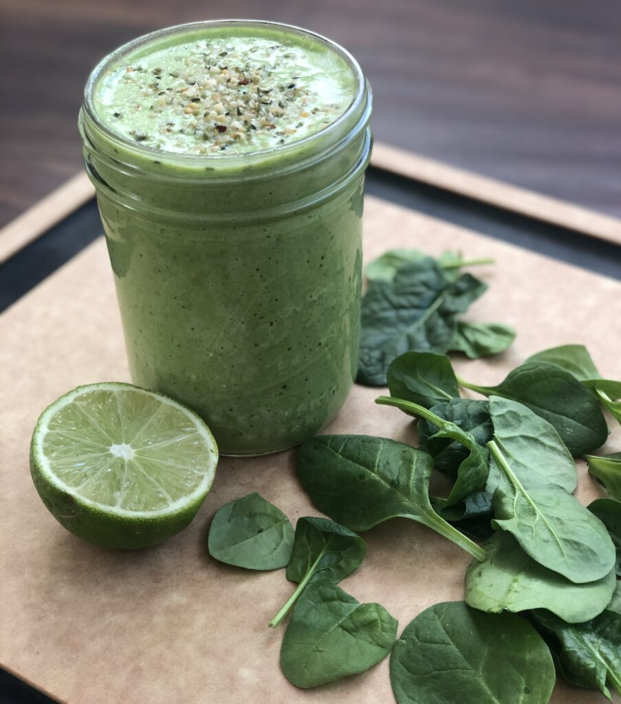 Green Smoothie with Willa's Oat Milk