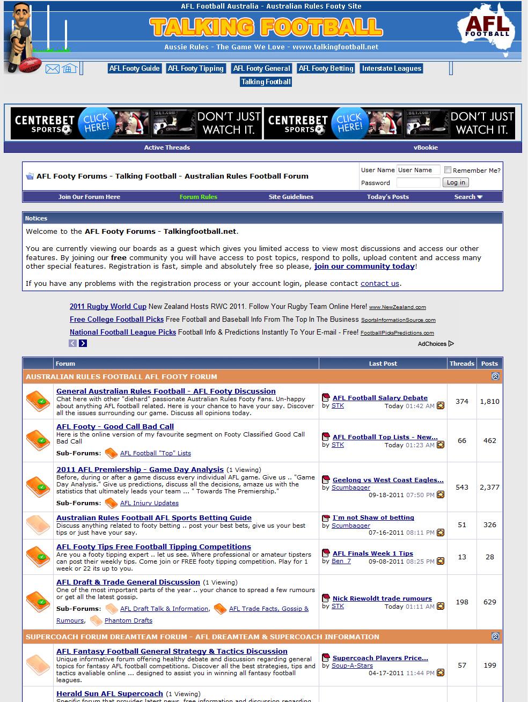 TalkingFootball.net (sports community)