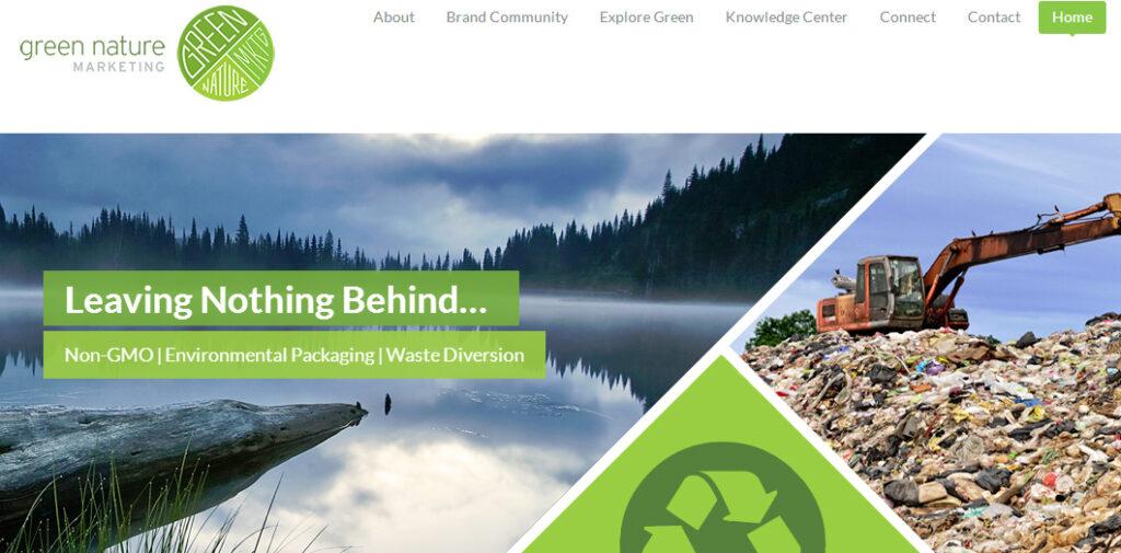 Green Nature Marketing WordPress Development
